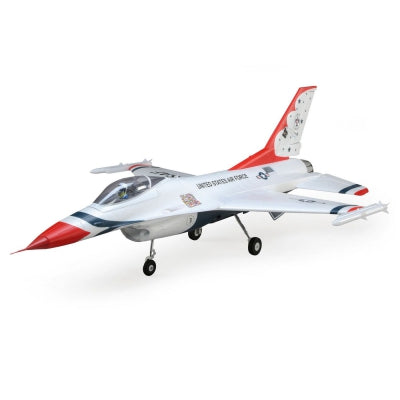 E-flite F-16 Thunderbird 70mm EDF BNF Basic w/AS3X  (EFL7850)