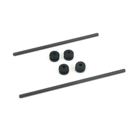 BLADE Body Mnt Rod & Grommet Set: BCX (EFLH1226)