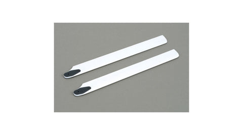 BLADE 245mm Wood Main Rotor Blade Set, White: BSR (EFLH1518)