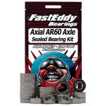FASTEDDY AXIAL AR60 SINGLE AXLE SEALED BEARING KIT (FEB11002)