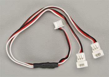 "Futaba Micro Y-Harness Connector 75mm 3"" (FUTM4504)"