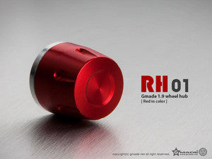 Gmade 1.9 RH01 WHEEL HUBS (RED) (GMA70111)