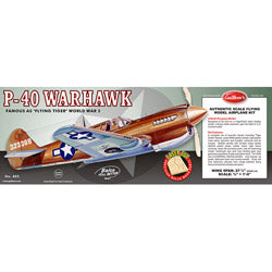 Curtiss P40 Warhawk Laser Cut  (GUI405LC)