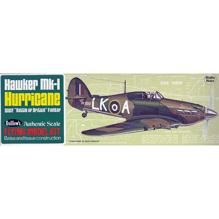 Guillows Hawker MK-1 Hurricane (GUI506)