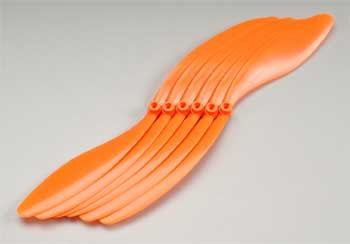 GWS 12x6 Propeller Orange (6) (GWSEP1260)