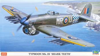 Hasegawa 1/48 Typhoon MK1B Shark Teeth Limited Edition (HSG09978)