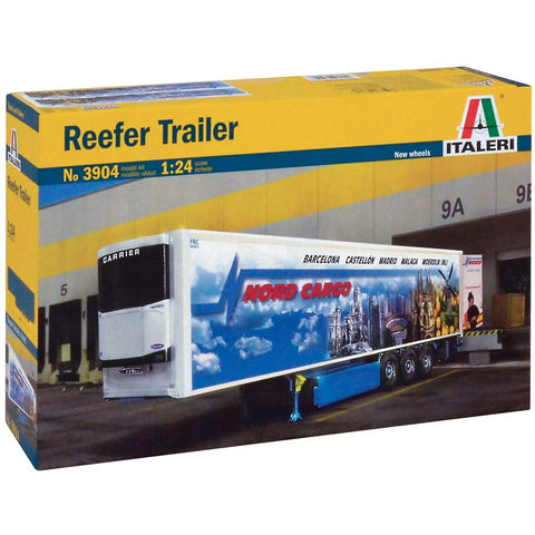 Italeri 1/24 Reefer Trailer  (ITA3904)