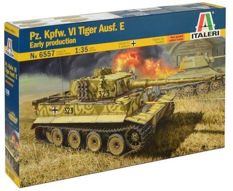 Italeri PzKpfw VI Ausf E Tiger Early Production Tank 1/35 Italeri  (ITA6557)
