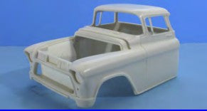 Jimmy Flintstone 1/25 1955-57 Chevy Chopped Cab Body for AMT (JIM-NB261)