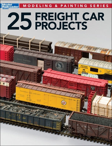 KALMBACH 25 FREIGHT CAR PROJECTS Softcover (KAL12498)