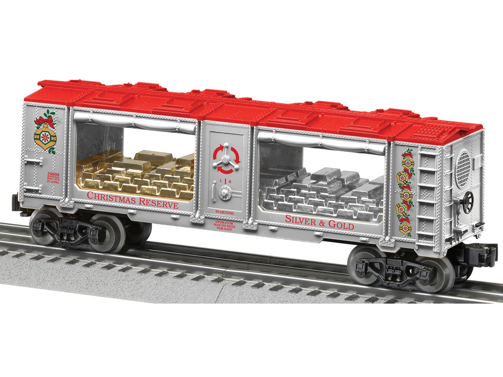 Lionel Christmas Mint Silver and GoldO (LNL629699)