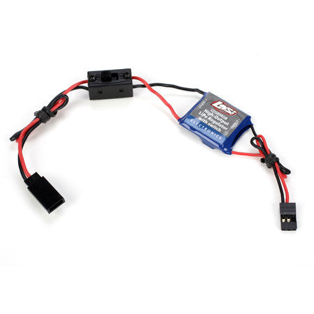 Losi High-Output LiPo Regulator with Switch  (LOSB9608)