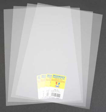 Midwest Clear Sheet PVC .010 (MID702-02)