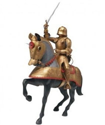 Revell 1/8 Gold Knight w/Horse  (MON856525)