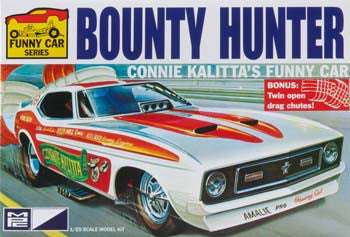 MPC Connie Kalitta Bounty Hunter '72 Mustang Funny Car (MPC788/12)