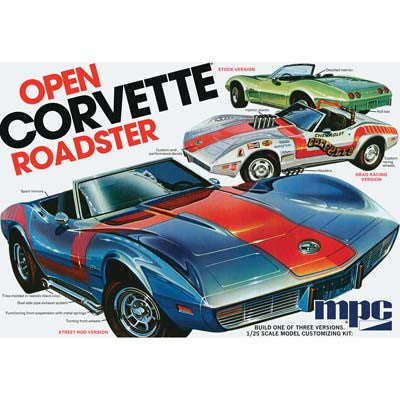 MPC 1/25 1975 Chevy Corvette Convertible (MPC842)