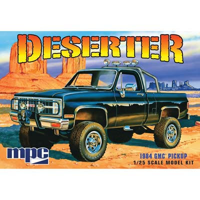 MPC 1/25 1984 GMC Pickup Black (MPC848)