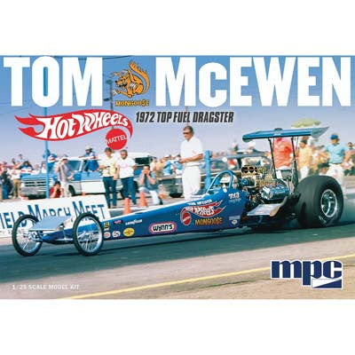MPC 1/25 Tom Mongoose McEwen 1972 Rear Engine Dragster (MPC855)