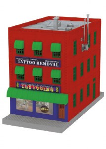 MTH TATTOO REMOVAL 3-STORY BUILD  (MTH3090566)