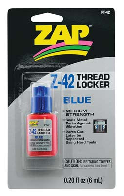 Zap Adhesives Thread Locker .20 oz (PAAPT42)