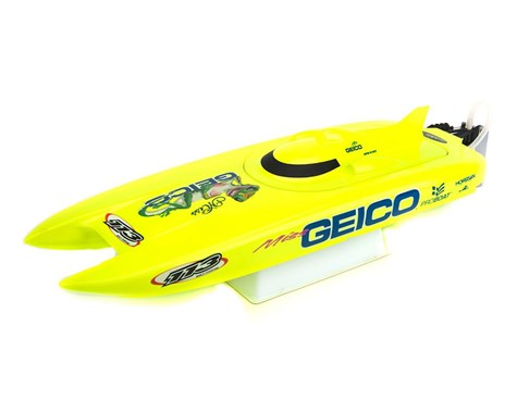 Pro Boat Miss Geico 17-inch Catamaran Brushed RTR (PRB08019)
