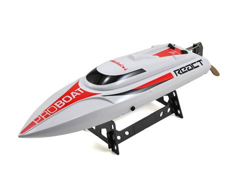 Pro Boat React 17 Self-Righting Deep-V Brushed RTR Boat  w/2.4GHz Radio (PRB08024)