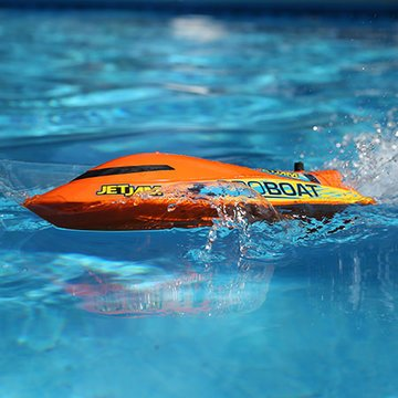 Jet Jam 12-inch Pool Racer, Orange: RTR (PRB08031T1)