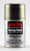 Pactra Galactic Purple Polycarbonate (Lexan) Spray Paint - 3 ounce spray (RC296)