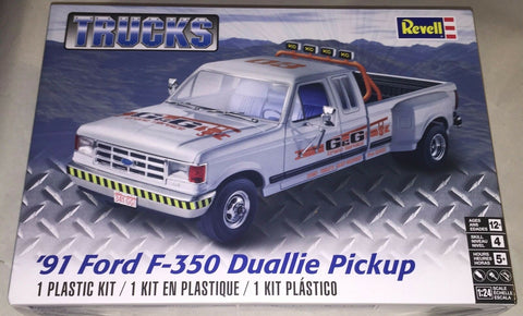 Revell 1/24 1991 Ford F-350 Dually Pickup (RMX854376)