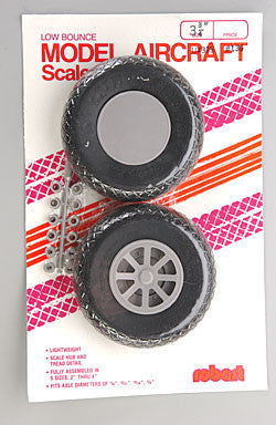 "Robart SCALE WHEELS 3-3/4"" DIAMOND (ROB136)"