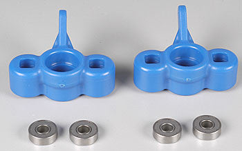 RPM Axle Carriers w/Bearings Blue T/E-Maxx (2) (RPM80035)