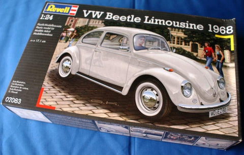 1/24 1968 VW Beetle Hardtop Car (RVL7083)