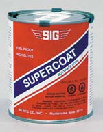 SIG SUPERCOAT CLEAR QUART (SIGSD145)