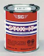 SIG STIX-IT Heat Activated Covering Adhesive  (SIGSX001)