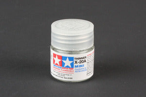 Tamiya Acrylic Mini X-20A Thinner, 10ml Bottle  (TAM81520)