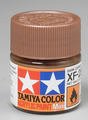 Tamiya Acrylic Mini XF-28 Dark Copper 1/3 oz (TAM81728)