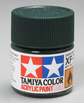 Tamiya Acrylic Mini XF-70 Dark Green 1/3 oz (TAM81770)