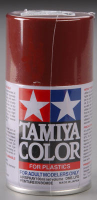 Tamiya Spray Lacquer TS-33 Dull Red 3 oz (TAM85033)