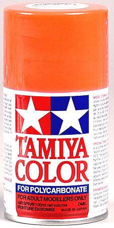 Tamiya PS-20 Polycarbonate Spray Fluorescent Red 3 oz (TAM86020)