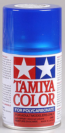 Tamiya PS-38 Polycarb Spray Translucent Blue 3 oz (TAM86038)