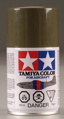 Tamiya AS-6 Spray Olive Drab USAF 3 oz (TAM86506)