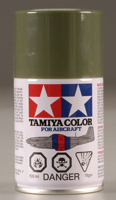 Tamiya AS-14 Spray Olive Green USAF 3 oz (TAM86514)