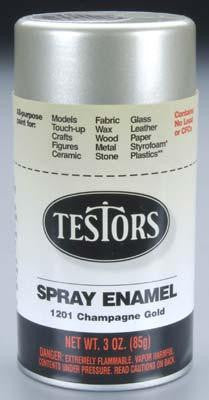 Testors Spray Enamel 3oz - Champagne Gold (TES1201)