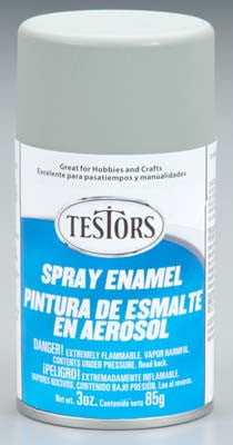 Testors Spray Dark Aircraft Gray 3 oz  (TES1226T)