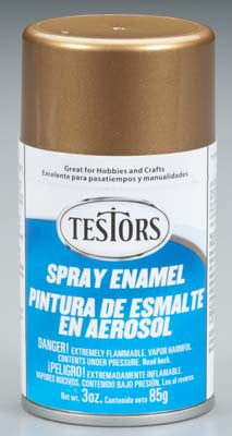 Testors Spray Gold 3 oz (TES1244T)