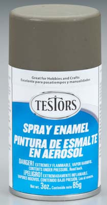 Testors Spray Flat Olive Drab 3 oz (TES1265T)