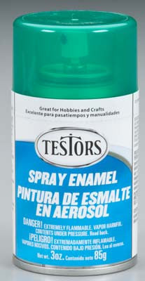 Testors Spray Custom Green 3 oz (TES1601T)