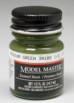 Testors Model Master Medium Green 34102 1/2 oz (TES1713)