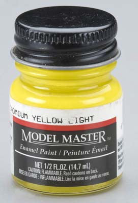 Model Master Cadmium Yellow Light 1/2 oz (TES2011)
