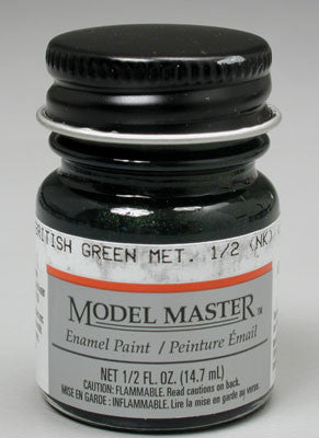 Model Master British Green Metallic 1/2 oz (TES2716)